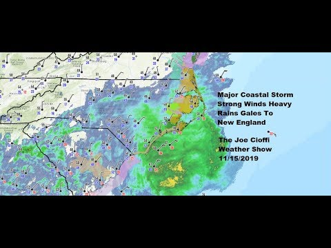 The Joe Cioffi Weather Show Major Storm Carolinas Impacts Weekend Forecast Northward Up The Coast
