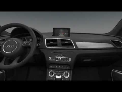 Audi q3 int rieur youtube for Audi q3 photos interieur