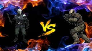 Gmod NPC Battle MetroCops Vs Halo Marines BloodBath!!!