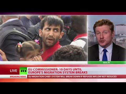 EU Commissioner: 10 days until EU migration system breaks