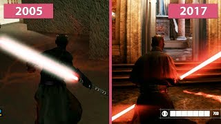 Star Wars Battlefront 2 – 2005 vs. 2017 Graphics Comparison
