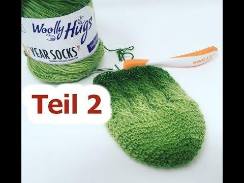 Socken Häkeln Einfach Mit Zöpfen Teil 2 Mit Year Socks Von Woolly