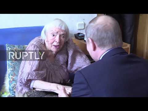 Russia: Prominent Russian human rights activist Alekseeva dies aged 91 *ARCHIVE*