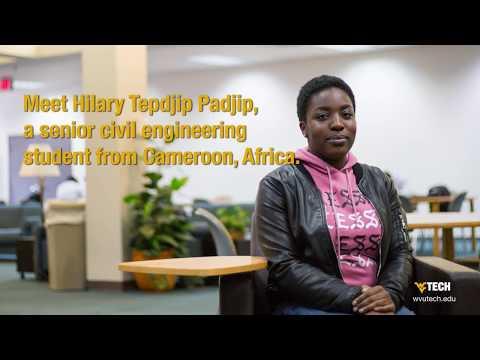 Meet Hilary Tepdjip Padjip, a civil engineering student. #eweek2018