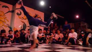 1回戦 Milking vs bgirl RION / Free hand gate vol.1 @Waaaps