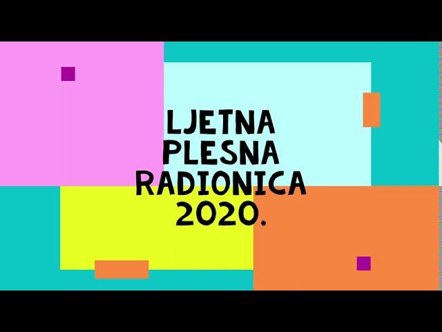 Ljeto na Cerinama - PLESNA RADIONICA