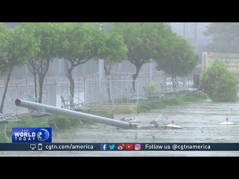 Hurricane Irma hits Cuba as powerful Category 5 storm