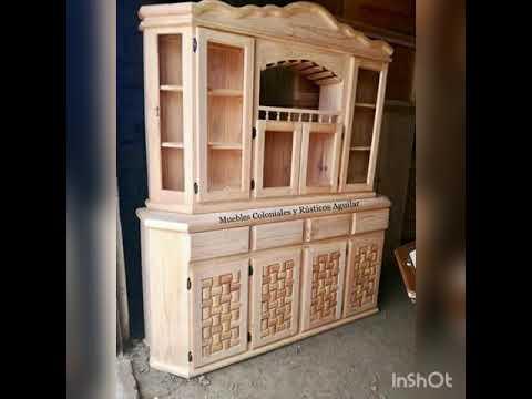 Muebles Rústicos De Madera