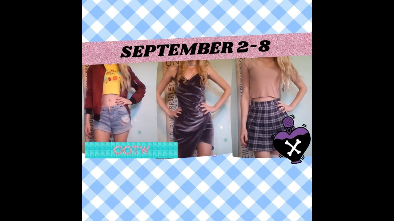 [VIDEO] - FULL WEEK OF OUTFITS OOTW! TRANSITION FROM SUMMER TO FALL + WEDDING 2