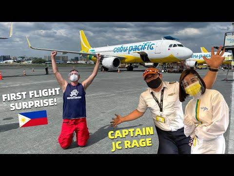 FILIPINO PILOT SURPRISED Me On My FIRST FLIGHT – Travel To Boracay From Mindanao