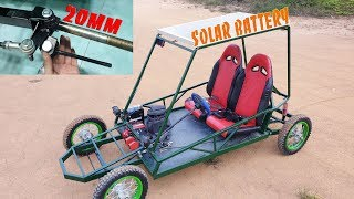 Upgrade CycleKart Buggy Car DIY