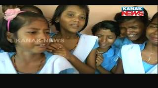 Transfer of Teacher Makes Student Cry In Chandbali of Bhadrak