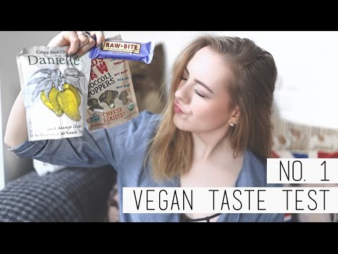 VEGAN TASTE TEST #1 | chanelegance