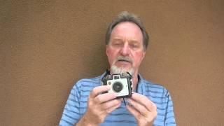 52 Cameras: Week 46 part 1 -- Kodak Brownie Holiday Flash