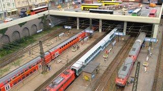 modellbahn kayreuth hbf in n scale rail 2016 in houten
