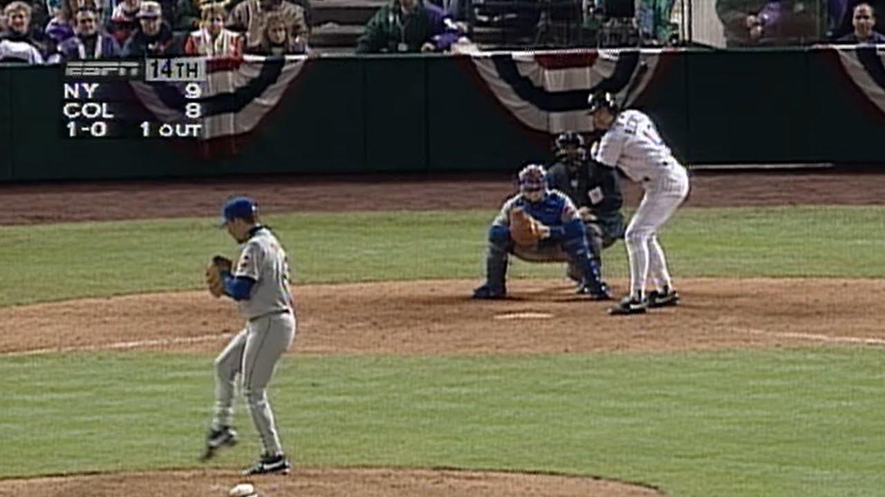 April 26, 1995 - Bottom of the 14th (Full Half-Inning)