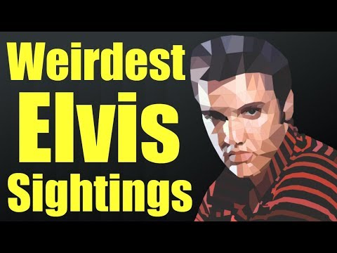 Weirdest Tales of Elvis Presley Being Found A