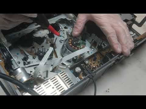 How to Demagnetize and clean VHS Players