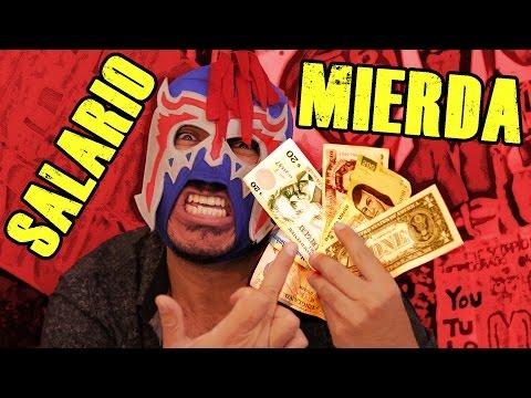 Los sueldos culeros de los mexicanos