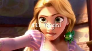 Top 25 Disney Films