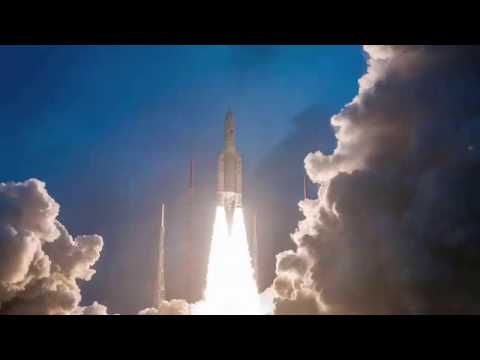 ISRO's satellite GSAT-11🚀 successfully launched from French Guiana, today