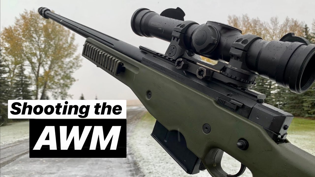 Download Shooting the AWM - PUBG Guns in Real Life