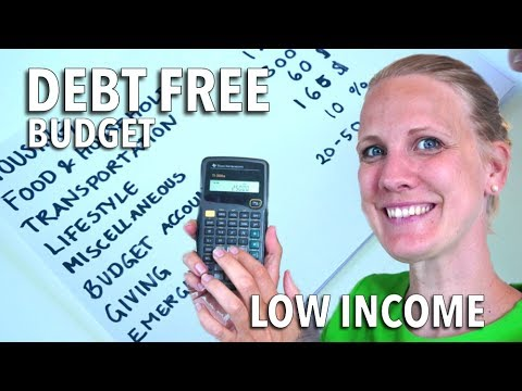 How To Pay Off Debt On Low Income