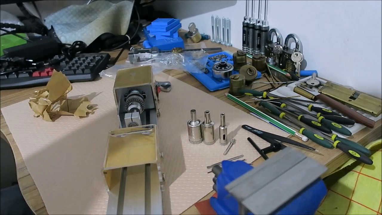 Unboxing and review of a mini lathe from BangGood