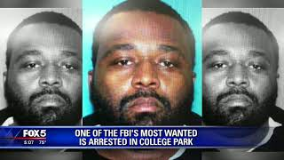 One of FBI's most wanted arrested in College Park