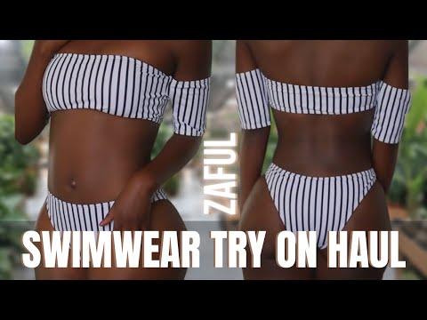 Is Zaful Swimwear For THICK Girls?? | Bikini Haul | Wilonda Previlon