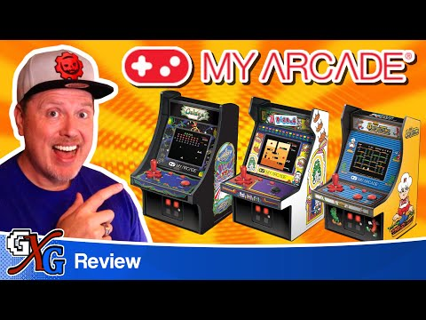 My Arcade Micro Players: Get An Entire '80s Arcade From Walmart!