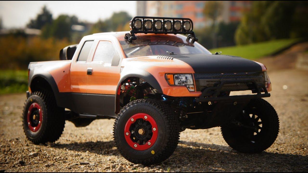 Rc Desert Trophy Truck - YouTube