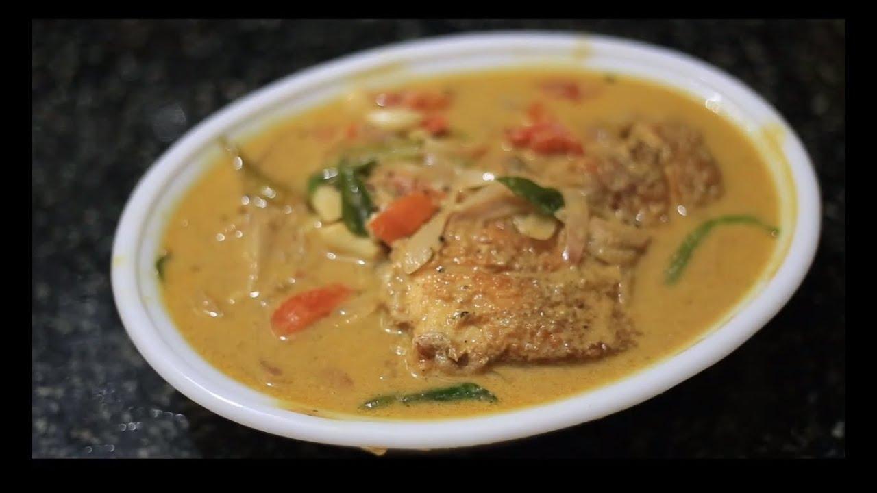 Kerala Fish Molly / Moly / Molee Video Recipe by Thresiamma Thomas for GrandmasMenu.com