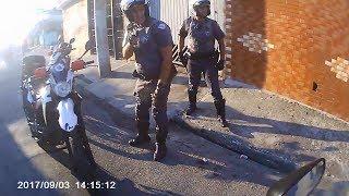 Así para la Policía a las Motos en Brasil #6 2018