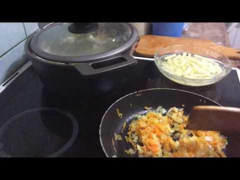 Суп Харчо с курицей и рисом пошаговый рецепт с фото и