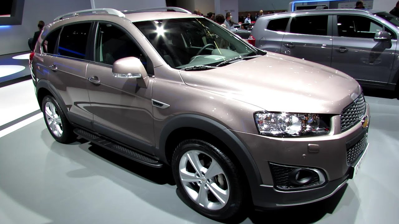 2014 Chevrolet Captiva LTZ AWD Diesel   Exterior And Interior Walkaround    2013 Frankfurt Motor Show   YouTube