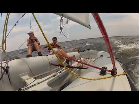 Club 420 Sailing With GoPro