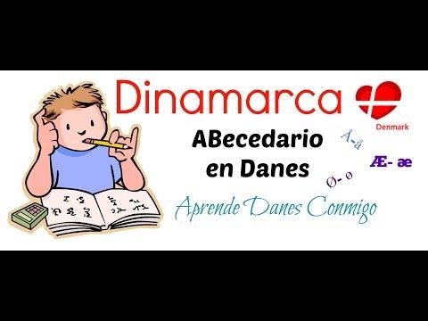 Aprende Danes Conmigo- Abecedario en Danes