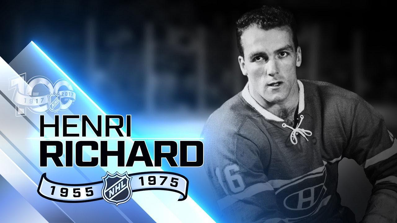 Download Henri Richard won Cup a record 11 times as a player