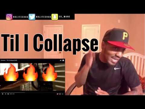 Eminem  Till I Collapse  REACTIONREVIEW RIP Nate Dogg
