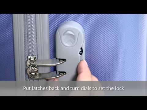 Как поменять код в чемодане