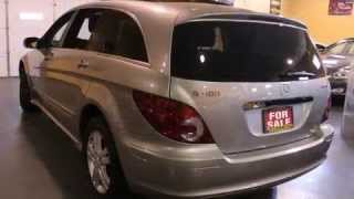 In Toronto - 2006 Mercedes-benz R-class 500 Navigation Dvd Panoramic Roof 7passenger Wagon