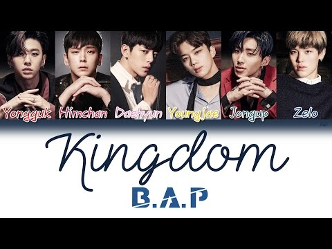 B.A.P (비에이피) - Kingdom (Korean Ver.) | Han/Rom/Eng | Color Coded Lyrics |