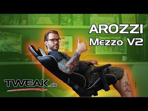 vente chaude en ligne ca8c4 0aced Arozzi Mezzo V2 - Gaming stol - YouTube