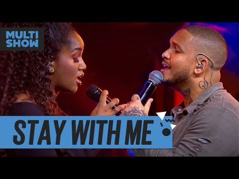 Stay With Me  Iza + Imaginasamba  Música Boa Ao Vivo  Música Multishow