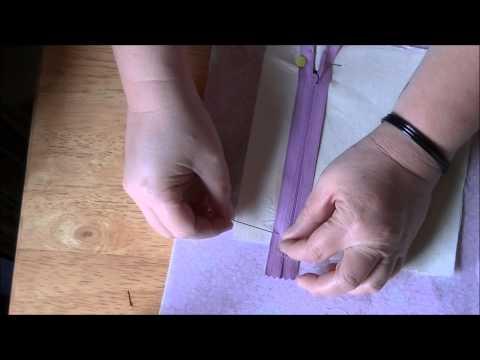 Cara Menjahit Zip Untuk Poket Beg