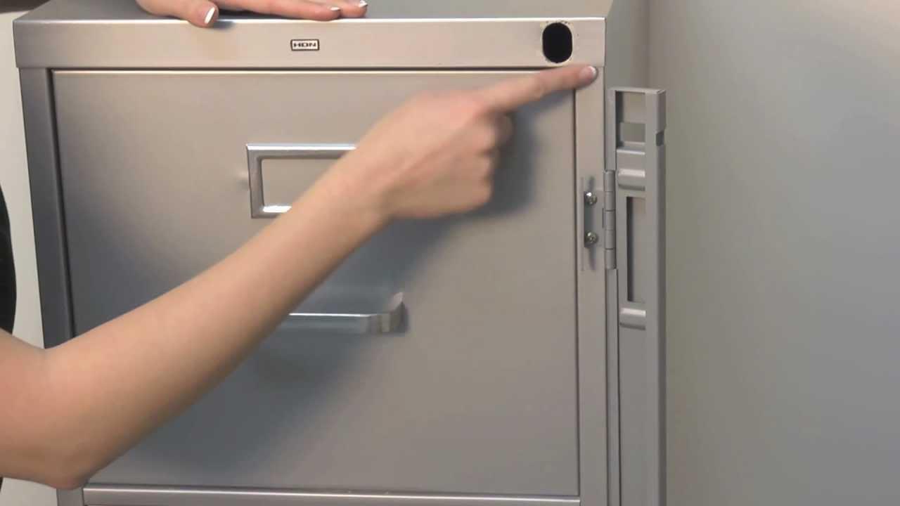 ABUS File Cabinet Locking Bars  Padlocks  YouTube