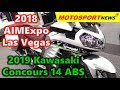 2019 Kawasaki Concours 14 ABS ǀ 2018 AIMExpo Las Vegas