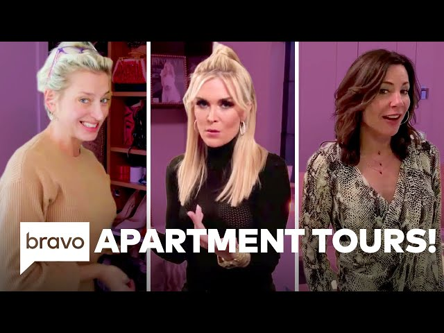 Take a Tour of Dorinda, Tinsley, and Luann\'s Homes | The Real Housewives of New York City