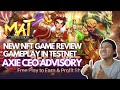 MYMASTERWAR NFT GAME | FREE TO PLAY | PLAY TO EARN | AXIE CEO ADVISORY | STRATEGY GAME (TAGALOG)